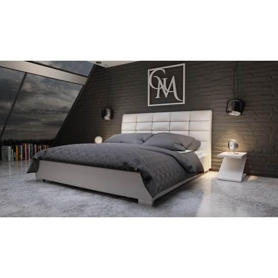 Wszystkie nowe Piękne łóżko tapicerowane do sypialni z eleganckim pikowanym XC37